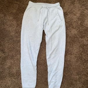 Men's Vintage Nike Joggers Grey Size Small